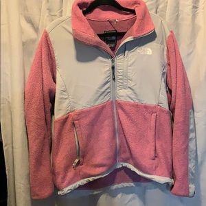 Pink north face fleece
